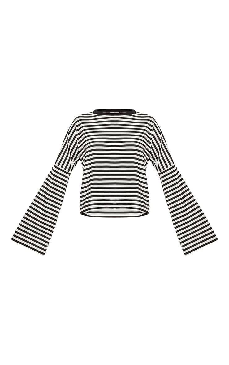 Mono Oversized Stripe Long Sleeve Top 3