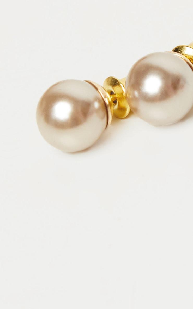 Pearl Stud Earrings 3
