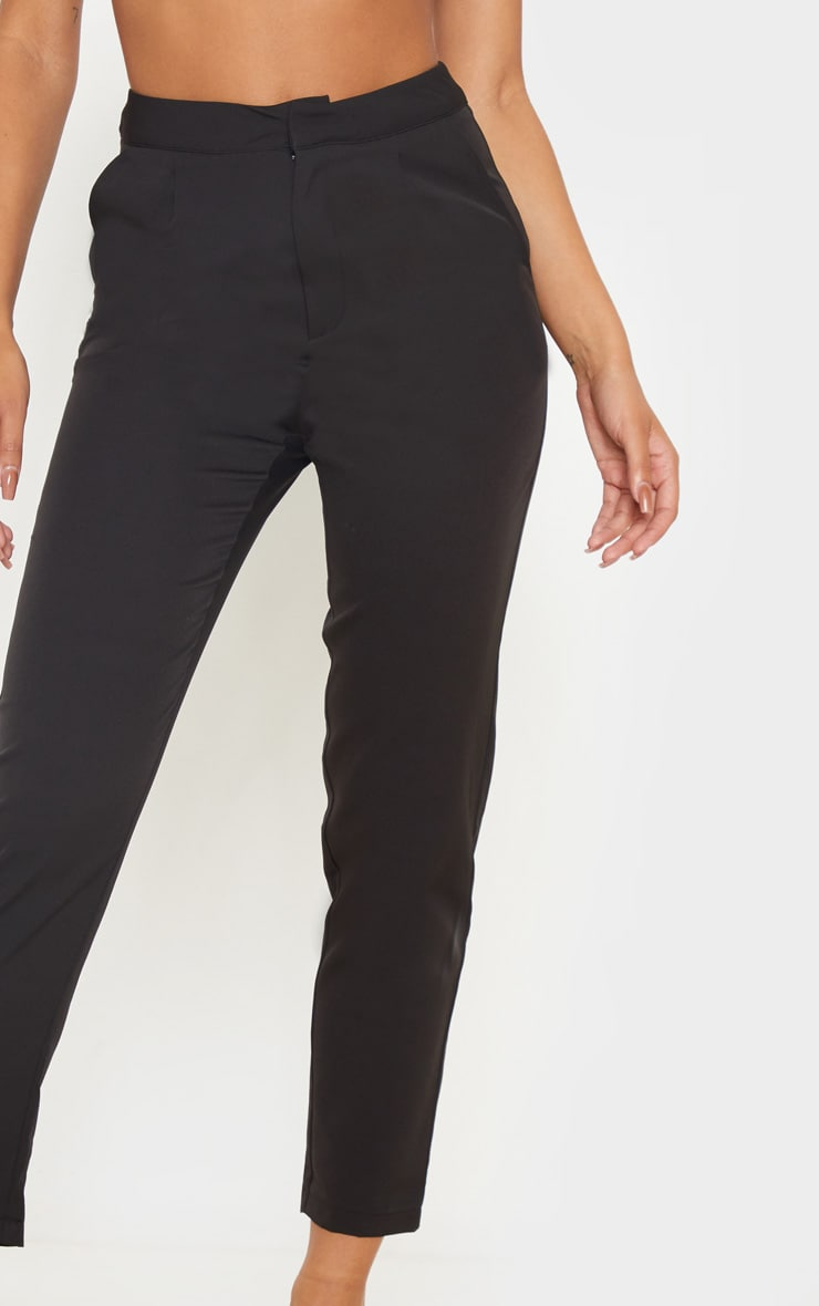 Black Cropped Trousers 5