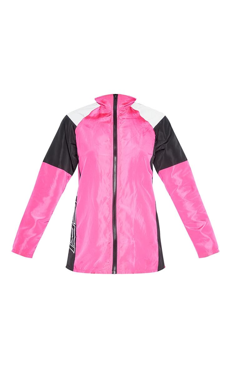 Pink Nylon 1997 Oversized Sports Jacket 5
