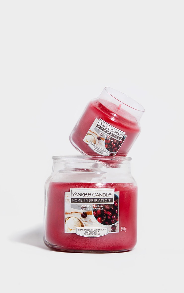 Yankee Candle Home Inspiration Small Jar Cherry Vanilla 4