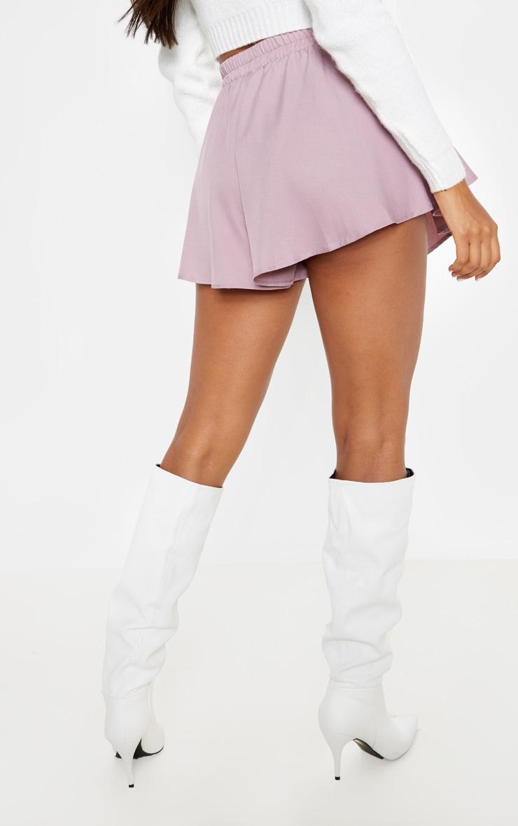 Dusty Lilac Floaty Shorts 4