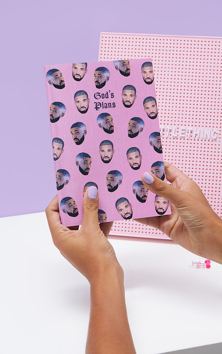 Central 23 Drakes God's Plan A5 Note Book