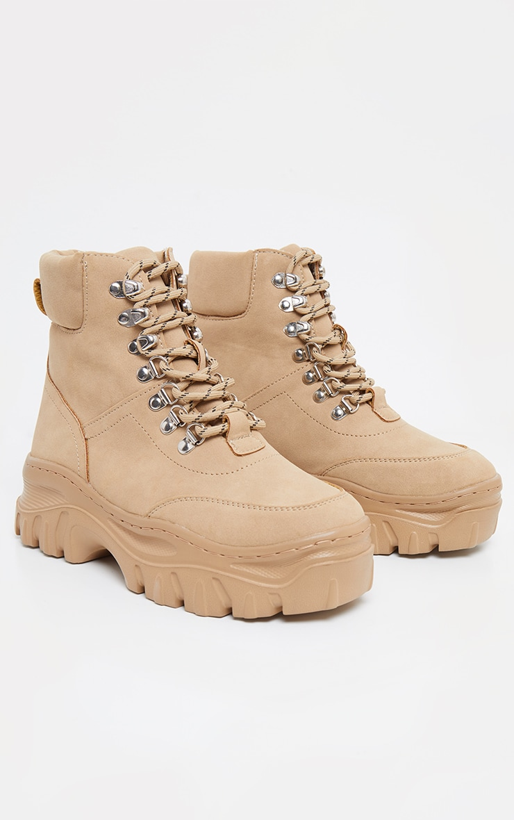 Sand Flatform Chunky Hiker Boot Sneakers 3