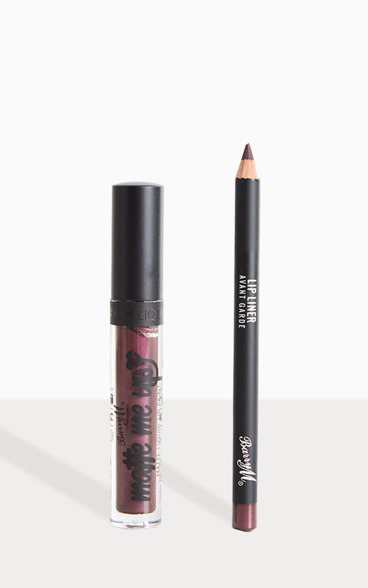 BarryM Metallic Liquid Lip Kit - Avant garde  1