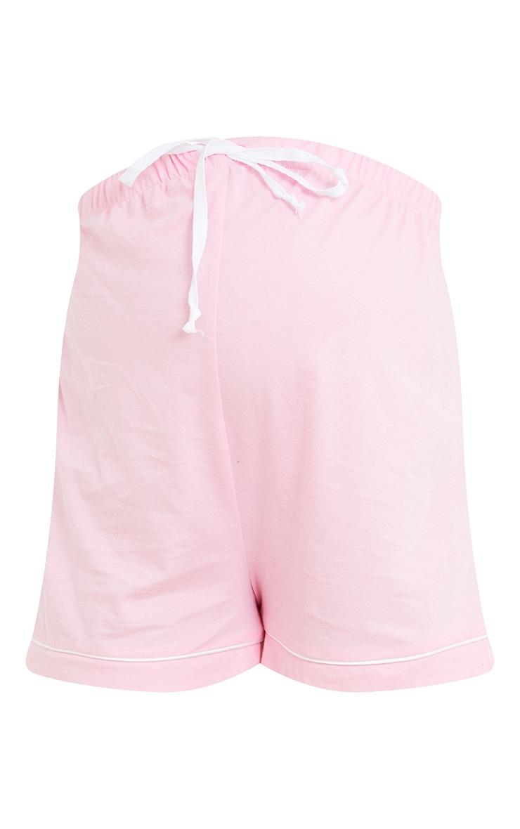 Maternity Pink  Mama PJ Shorts 6