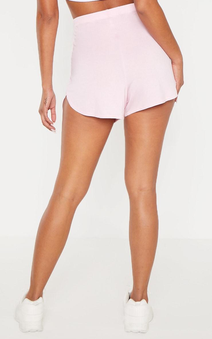 Pastel Pink Basic Runner Short 4