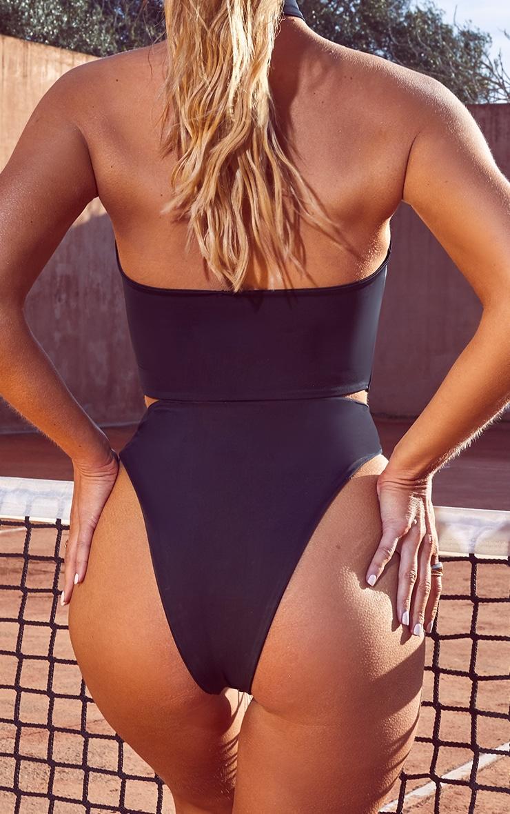 Black Cut Out Bikini Bottoms 4