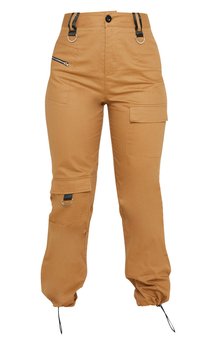 Tan Pocket Detail Cargo Trouser 3