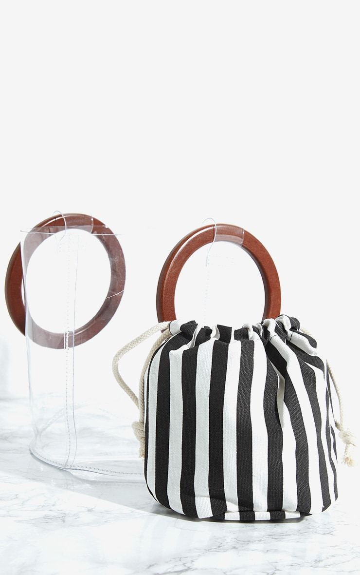 Clear Round Handle Bag 4