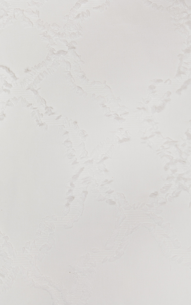 Premium White Diamond Tuft Double Duvet Set 4