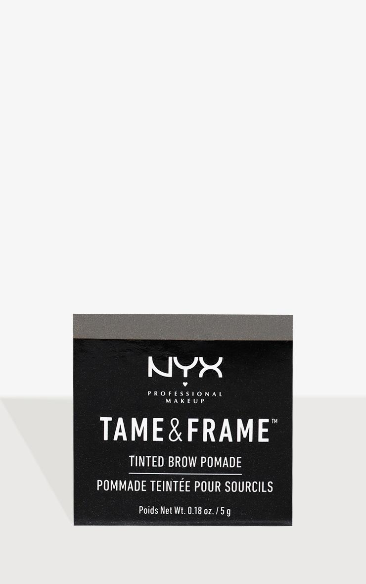 NYX PMU Tame & Frame Brow Pomade Black 3