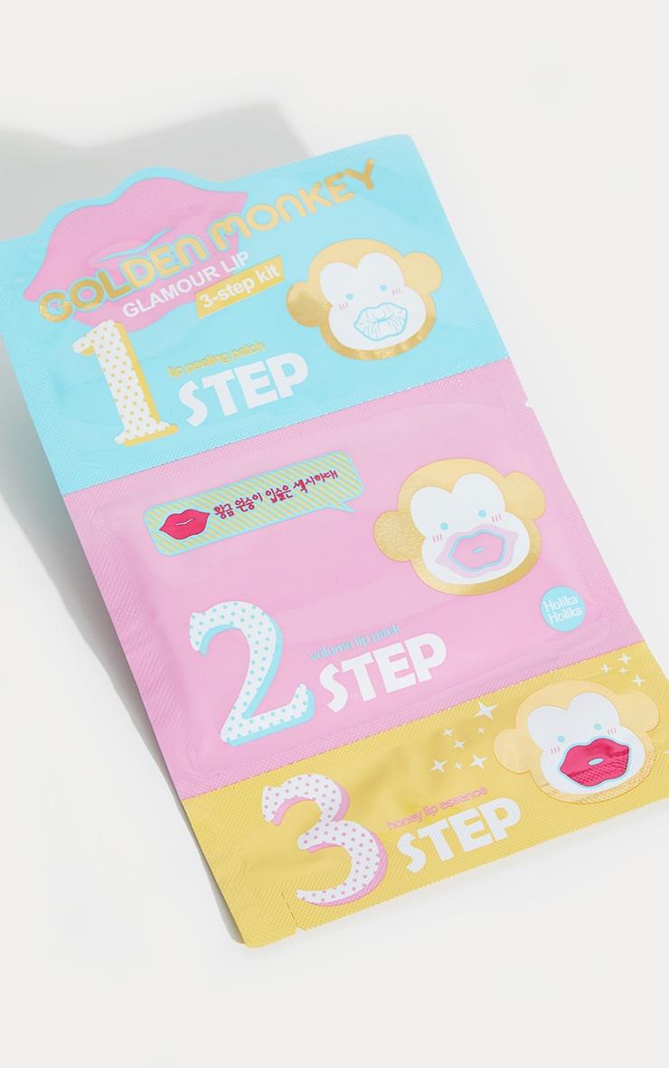 Holika Holika Golden Monkey 3 Step Lip Plumping Kit 2