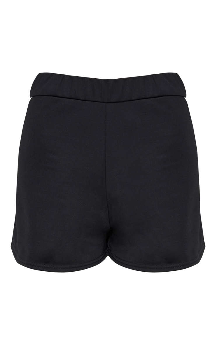 Black Tracksuit Shorts 3