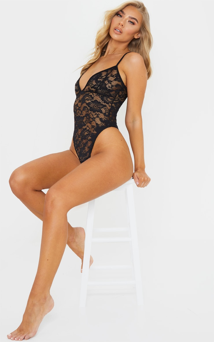 Black Basic Lace Body 3