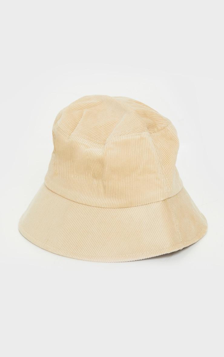 Sand Cord Bucket Hat 2