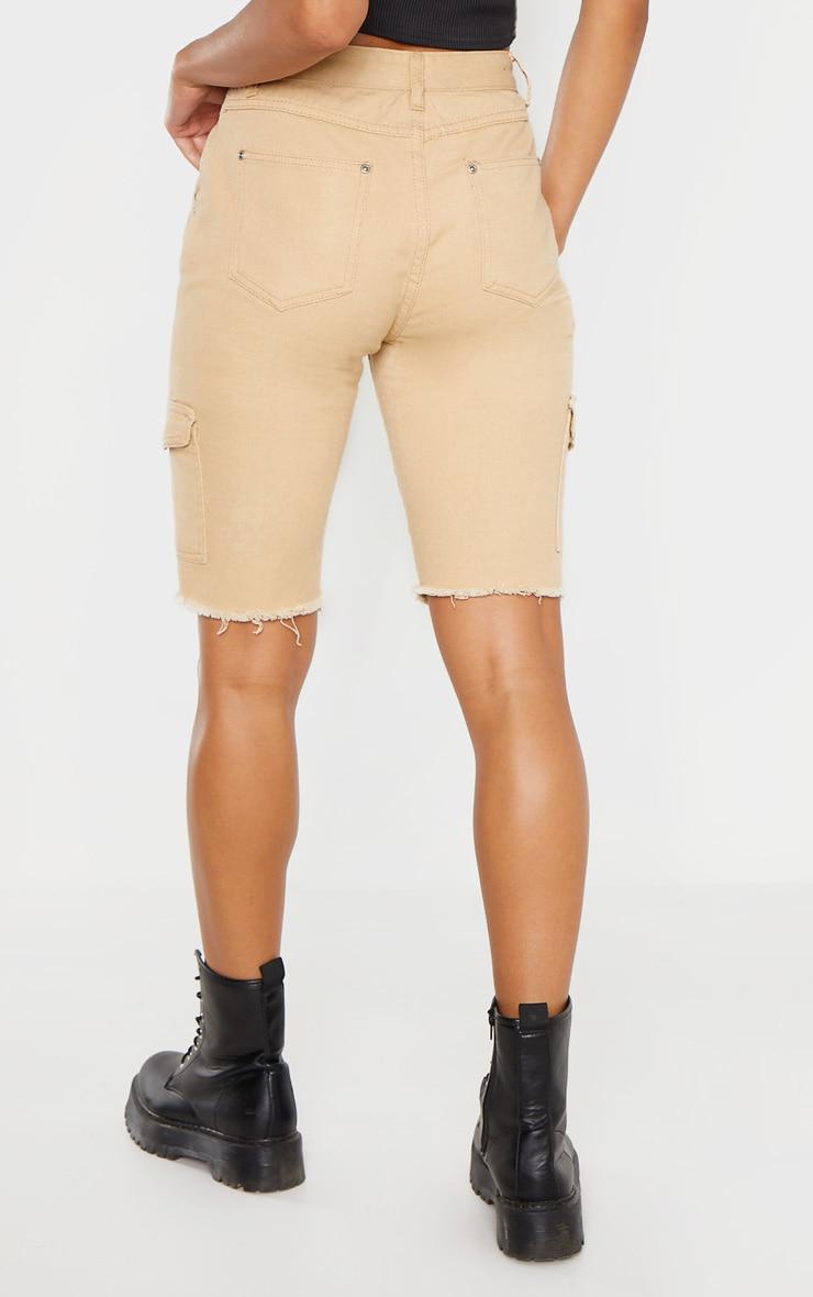 Stone Cargo Pocket Shorts  4