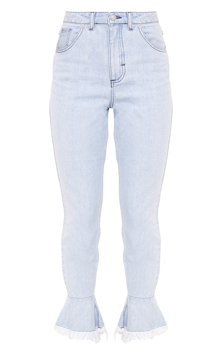 Tatjana Frill Hem Straight Leg Jean 4