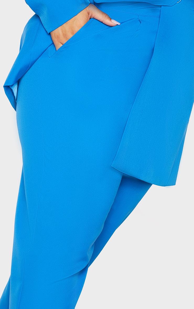 Plus Blue Cropped Pants 4