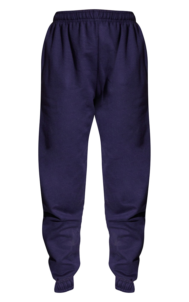 Navy Blue Sweat Pant Joggers 5