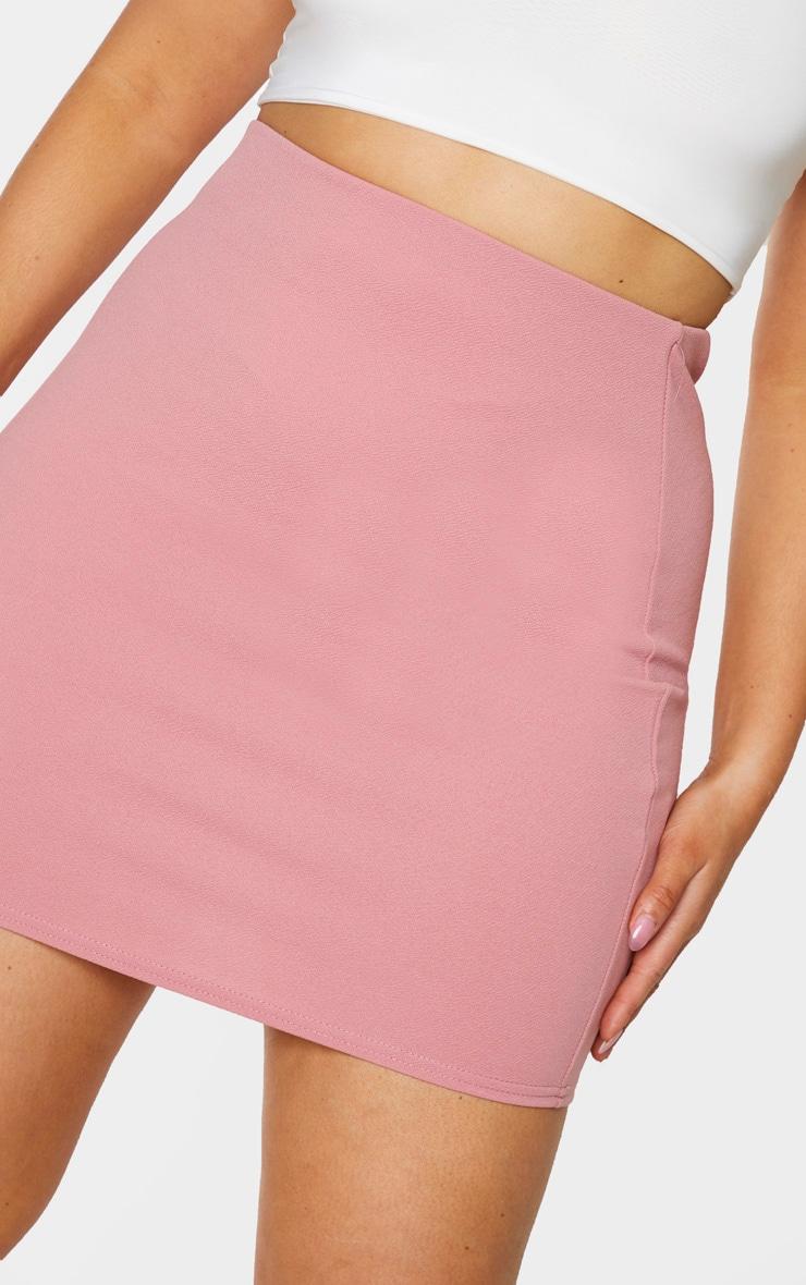 Plus Pink Mini Skirt 5