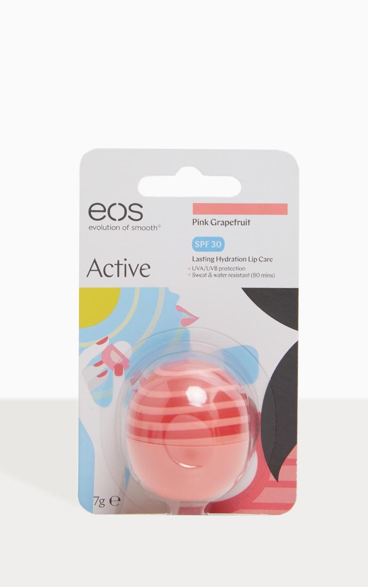EOS Pink Grapefruit SPF 30 Active Protection Lip Balm  3