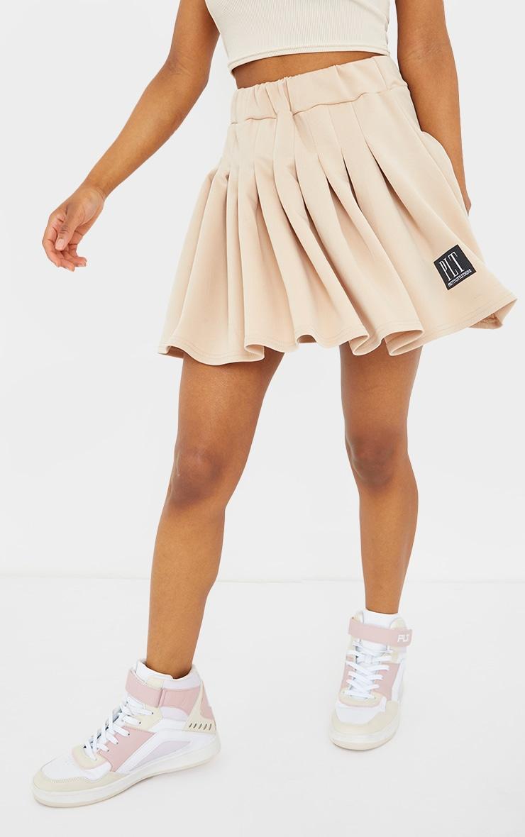 PRETTYLITTLETHING Petite Stone Tennis Skirt 2