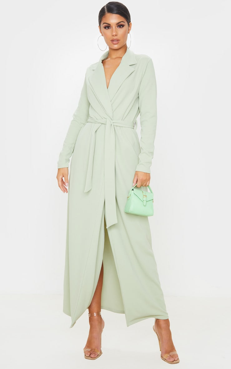 Sage Green Maxi Duster 7