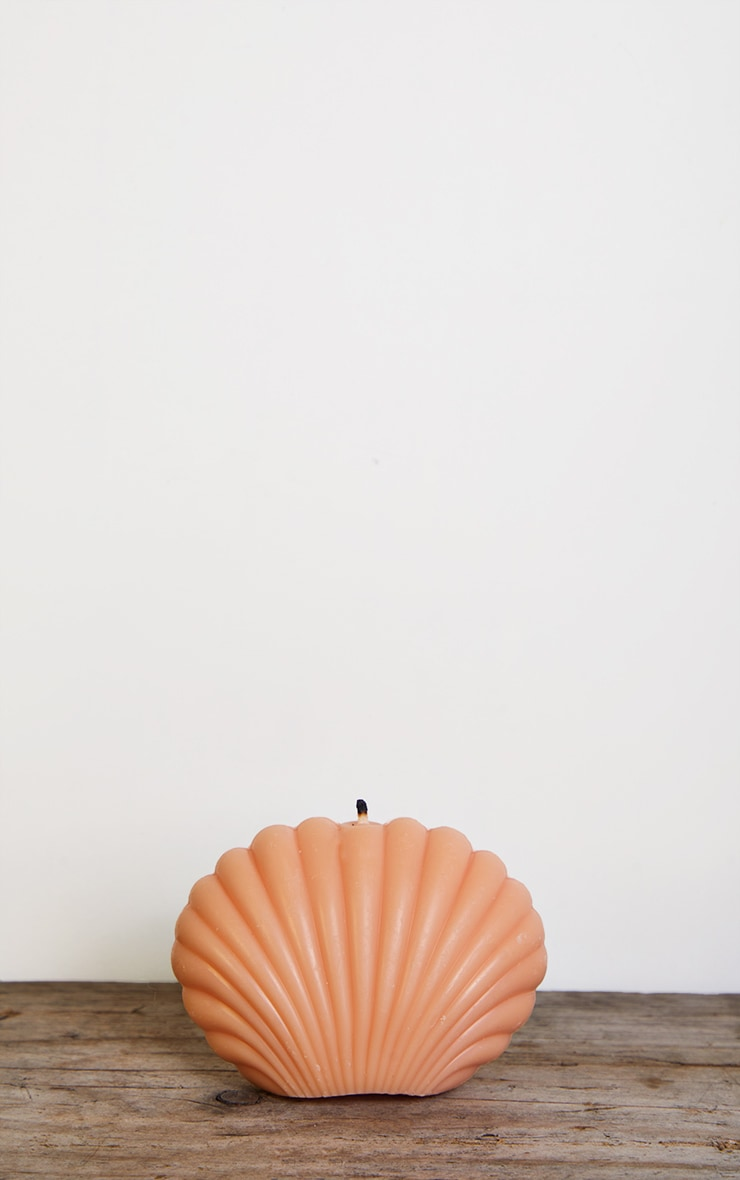 Coral Shell Candle 3