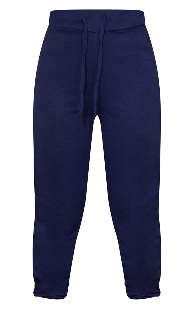 Navy Ultimate Marl Sweat Joggers  5