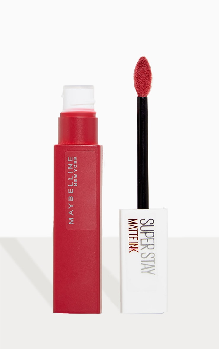 Maybelline Superstay Matte Liquid Lipstick 12 Hour Wear 170 Initiator 1