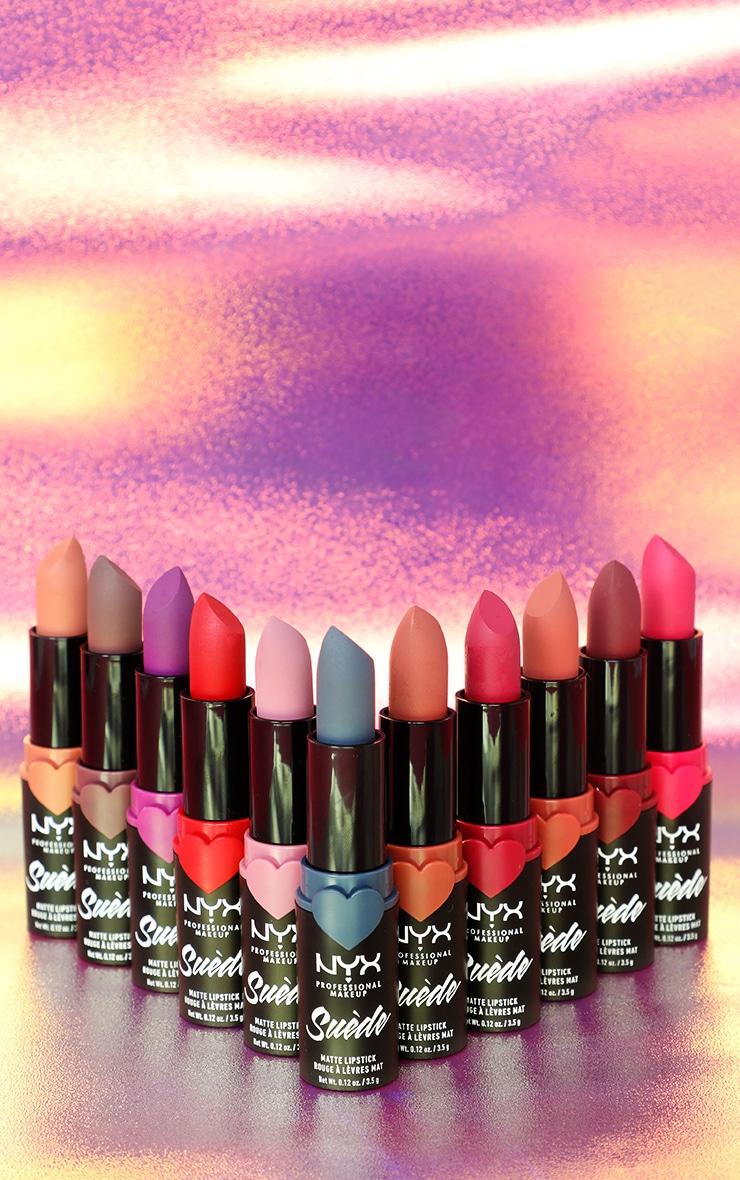NYX PMU Suede Matte Lipstick Clinger 4