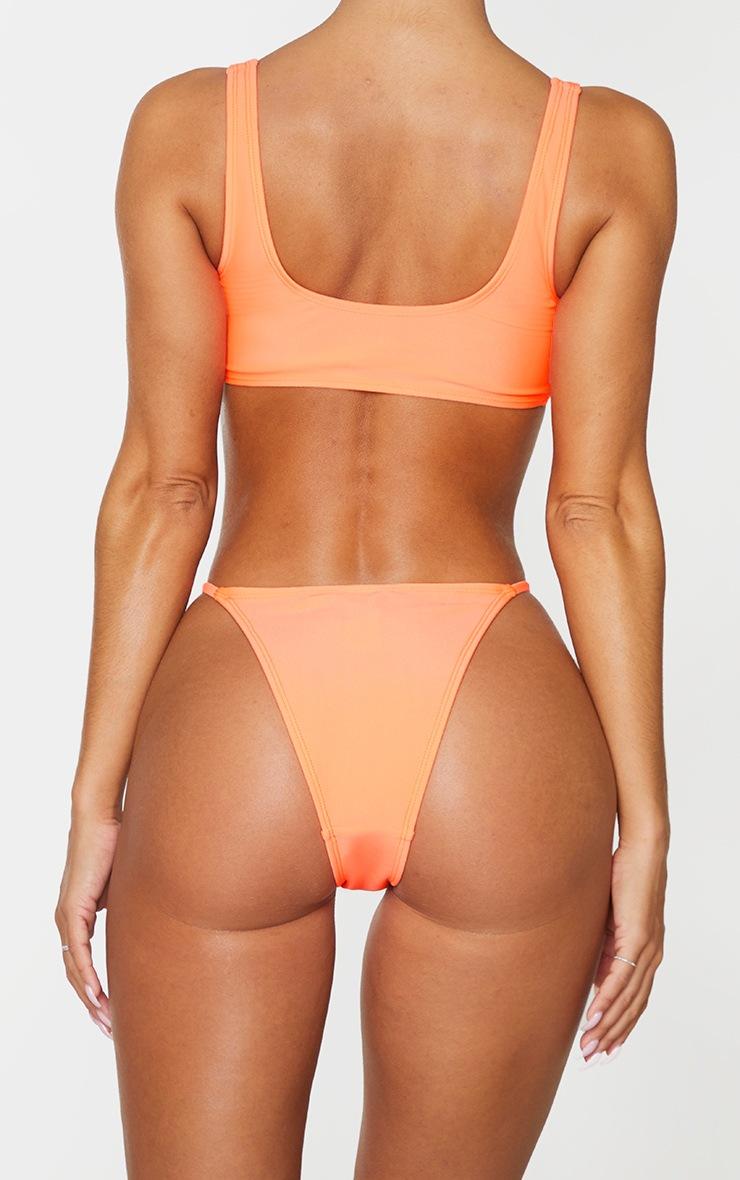 Coral Mix & Match Itsy Bitsy Bikini Bottom 3