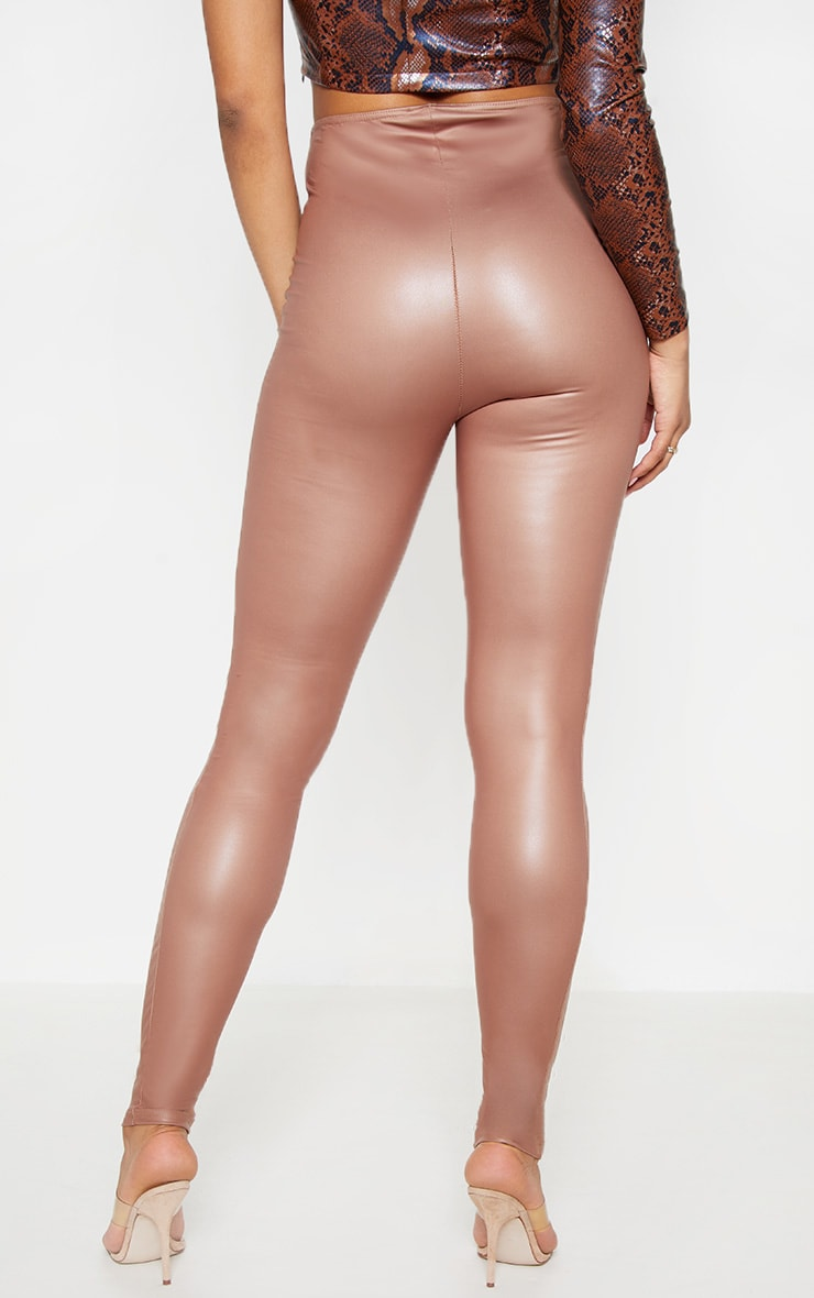Tall Stone V Front PU Legging  4