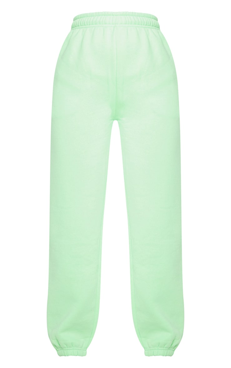 Apple Green Casual Joggers 5