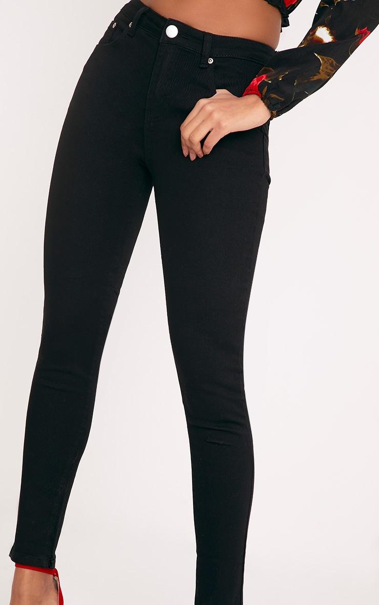 Black Skinny Fit Jean  6
