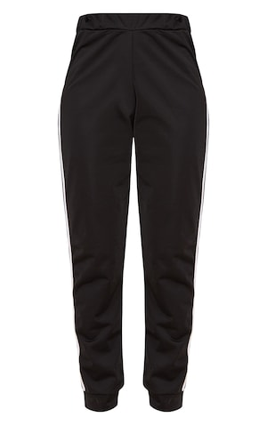 Black Sport Stripe Joggers image 3