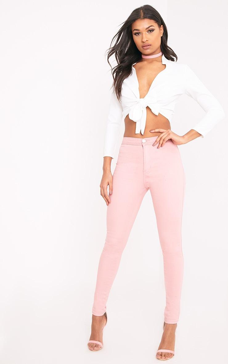 Kalayah Pink Skinny Jean 1