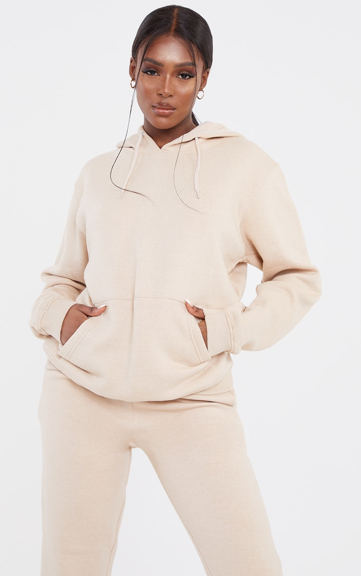 Tall Sand Ultimate Oversized Hoodie 1