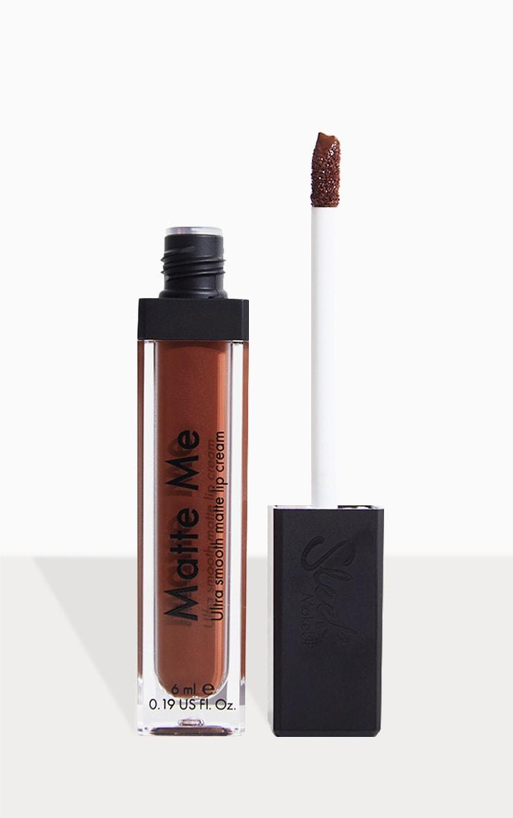 Sleek MakeUP Matte Me Lip Cream Chocolate Meringue 1