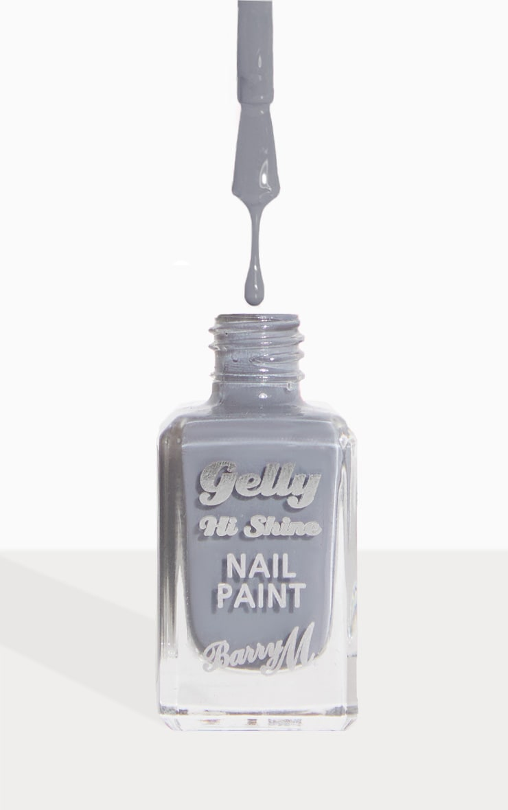 Barry M Gelly Hi Shine Nail Paint Chai