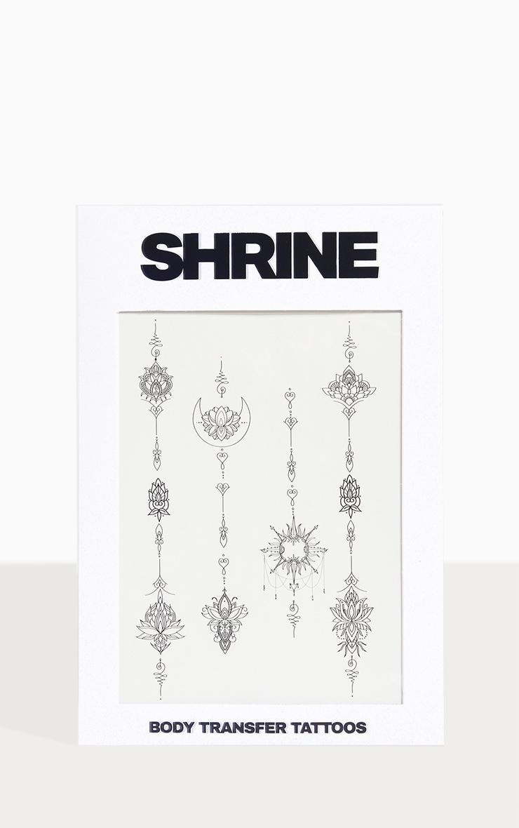 SHRINE Black Body Transfer Tattoos 1