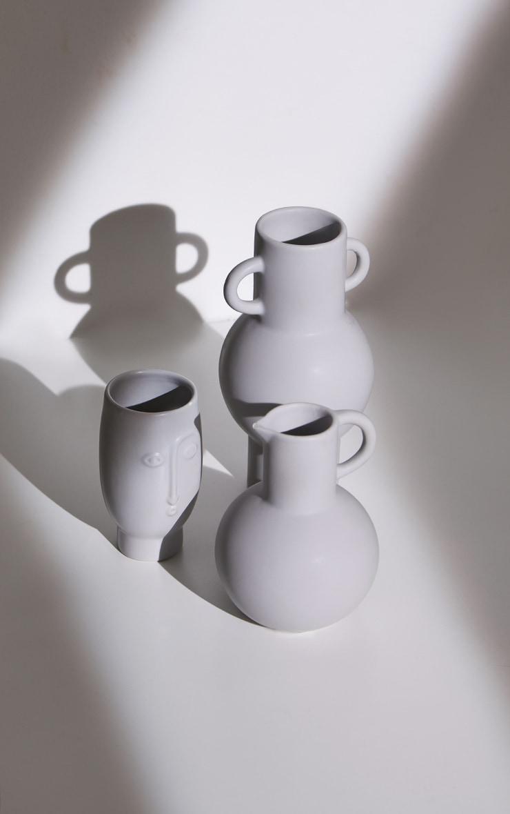 Grey Face Vase 6