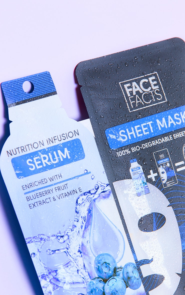 Face Facts Serum Sheet Mask Nutrition Infusion 2