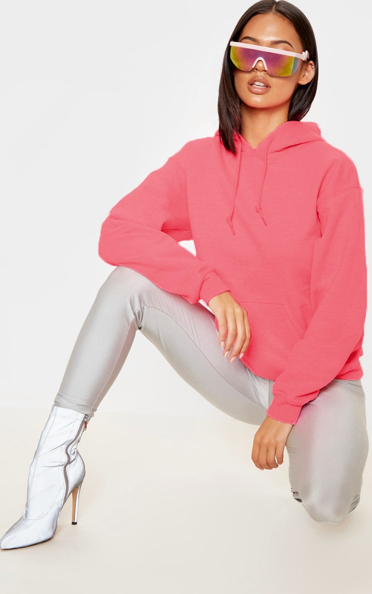 Pink Ultimate Oversized Hoodie 1