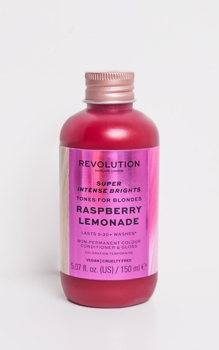Revolution Haircare Tones for Blondes Raspberry Lemonade 3