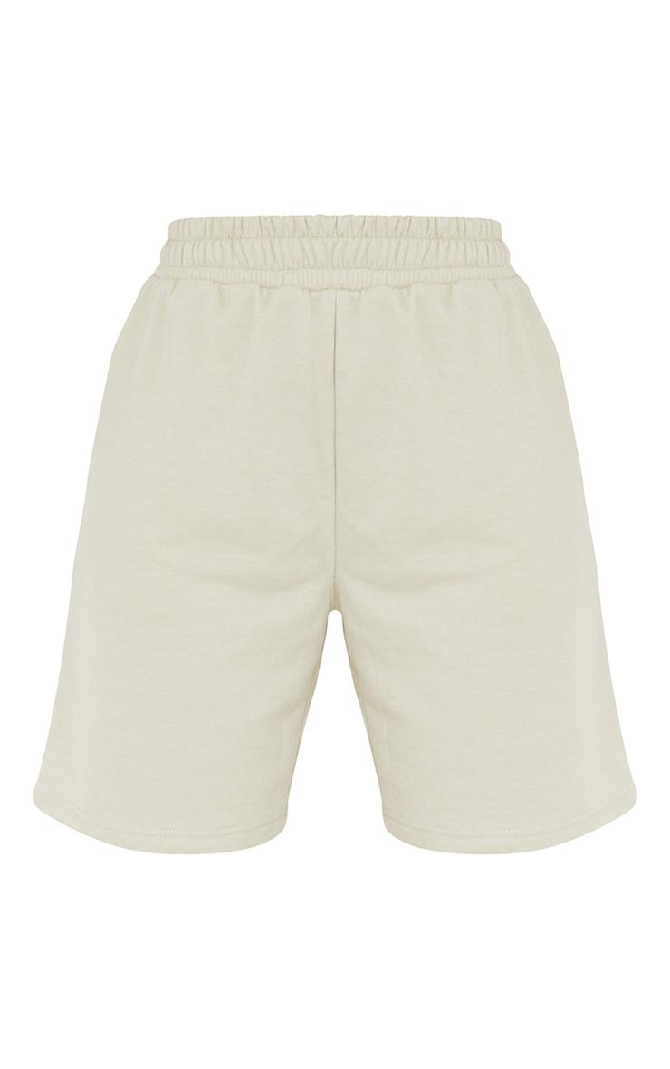 Stone Lightweight Longline Sweat Shorts 6