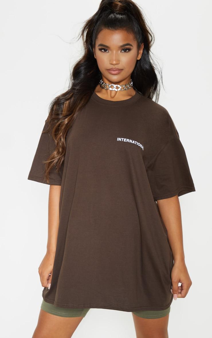 Brown International T-Shirt  2