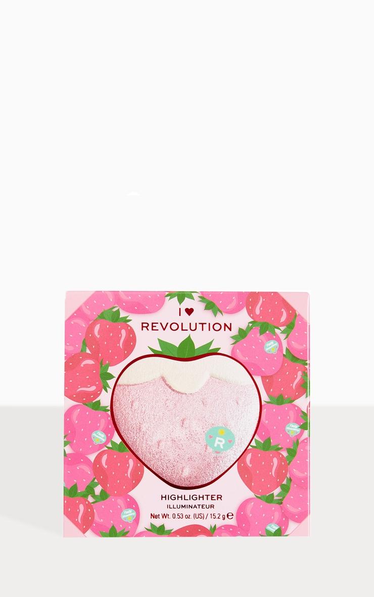 I Heart Revolution Tasty 3D Highlighter Strawberry 2