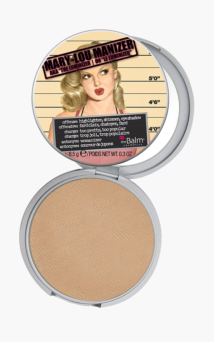 theBalm Mary Lou Manizer Highlighter 1